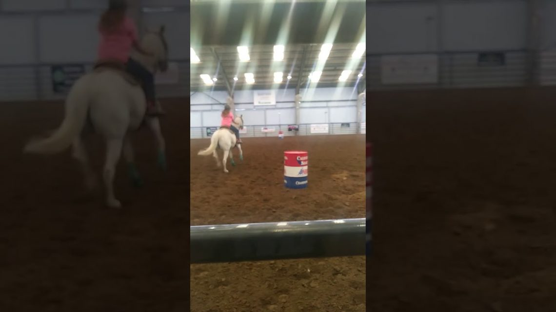 Barrel horse fail 2