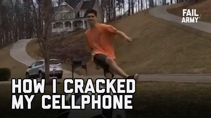 Comment j'ai brisé l'écran de mon téléphone portable (juillet 2020) |  FailArmy