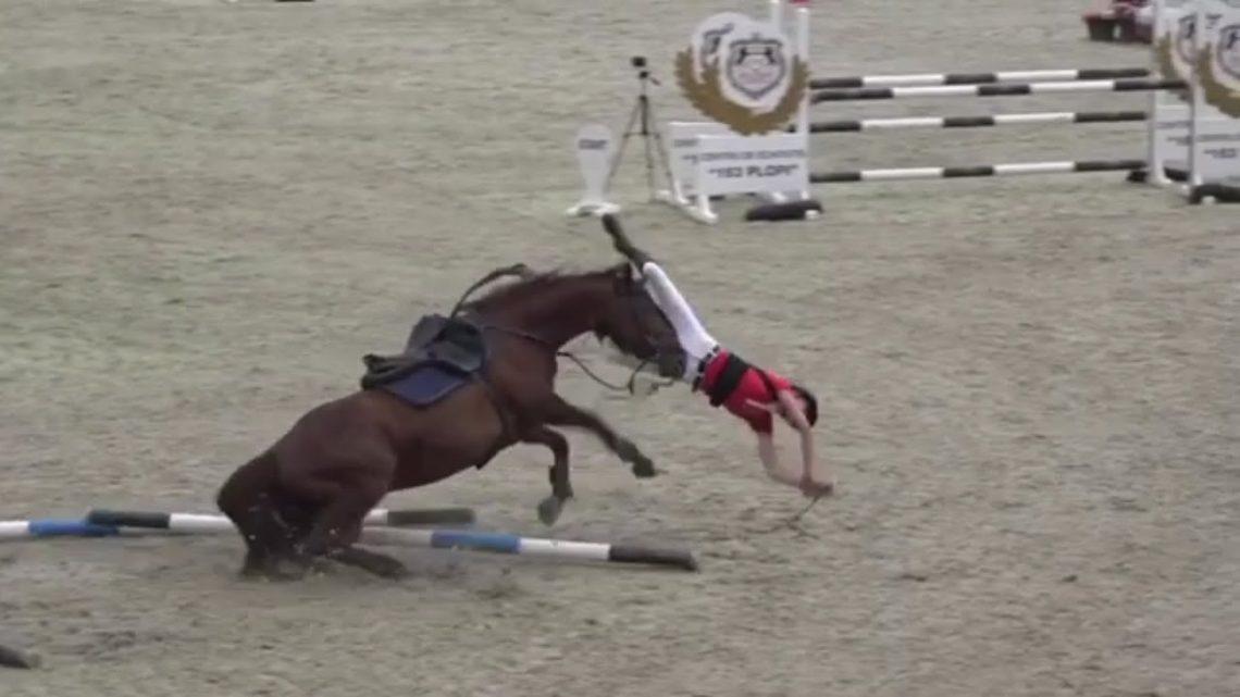 FAIL Horse Fall