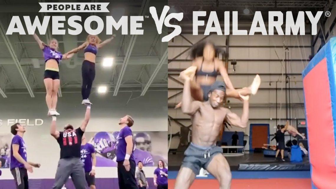 Gagner ou échouer?     Les gens sont géniaux Vs.  FailArmy!