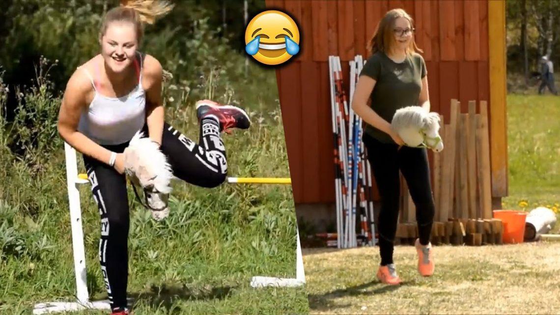 HAHA!  Compilations d'fail d'équitation Funny Girls Funny @ Crazy people