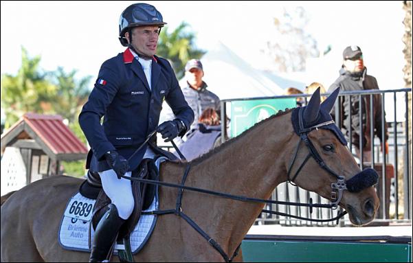 Le hongre d'Olivier Robert Tempo du Raban est revenu au sport après une blessure