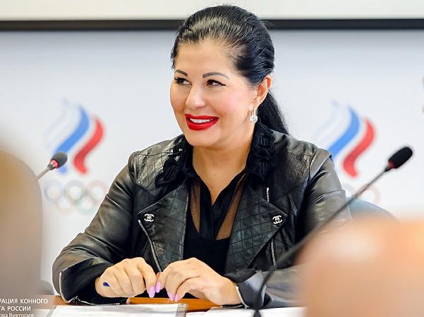 Marina Sechina est réélue à la présidence de la Fédération équestre de Russie