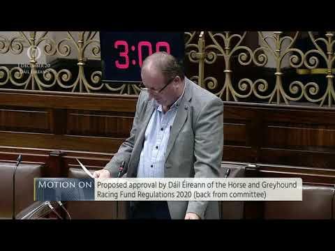 Micheal Collins TD: Règlement du fonds des courses de chevaux et de lévriers 2020