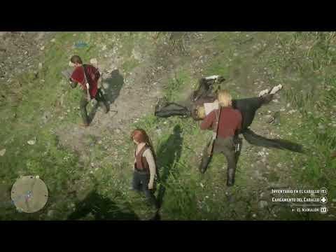 Red Dead 2 (Fail horse)