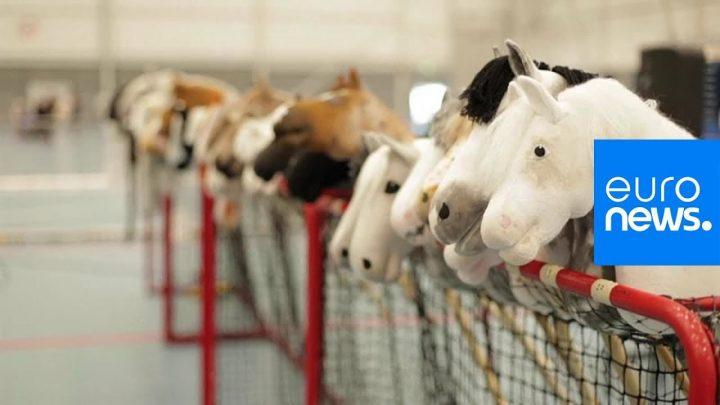 Regardez: Des enjeux importants aux championnats finlandais des hobby horse