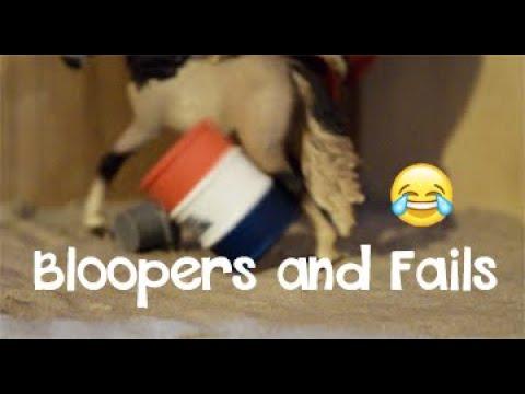 Schleich tournage Bloopers & Fails 2019