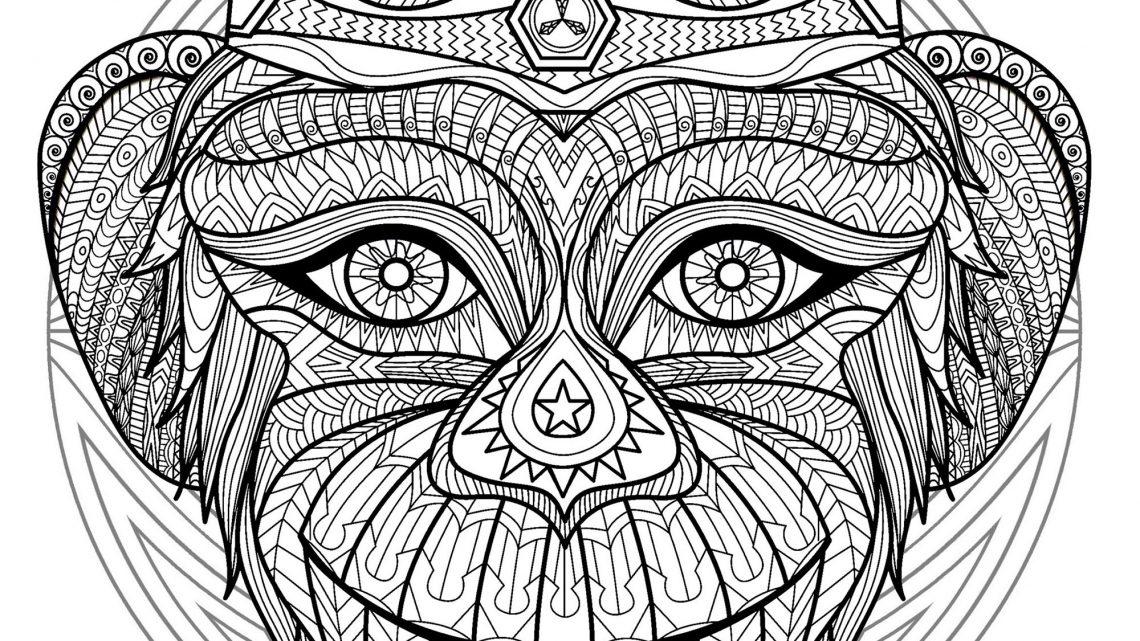 Animaux Coloriage Mandala Tete De Cheval