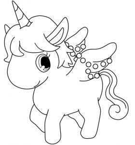 bébé cheval mandala