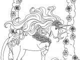 cheval coloriage mandala