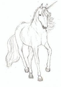 cheval licorne coloriage mandala animaux