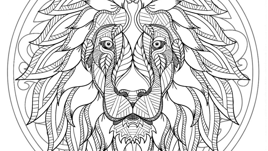 Coloriage Adulte Mandala Animaux Cheval