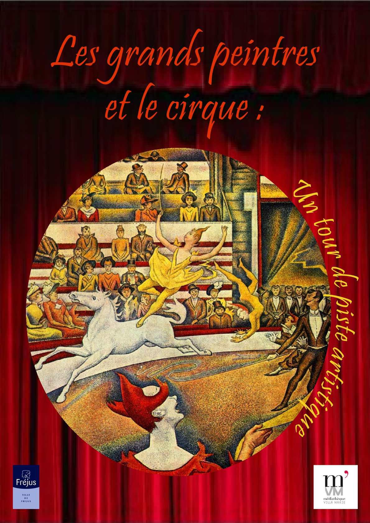 coloriage cheval de cirque