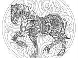 image cheval coloriage