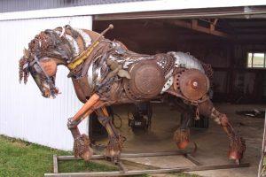 photo de cheval castillonnais