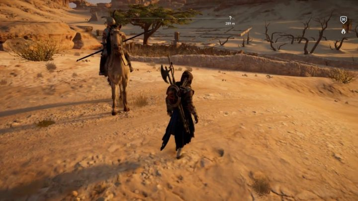 AC Origins Horse Fail (pour la soumission de Gamesprout)
