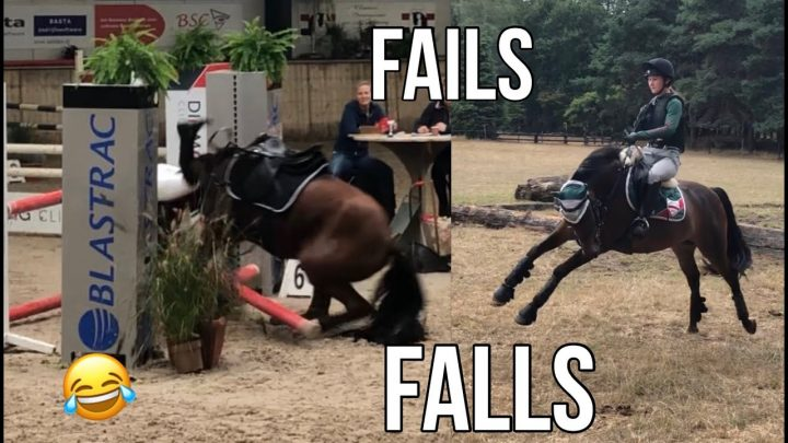 Compilation Fail & Fall !! 🤪 Equitation