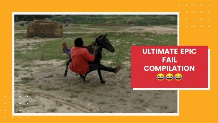 Équitation |  Compilation d'fail épique ultime |  Vidéo drôle |  Gramin Zindagi |  ग्रामीण जिंदगी |