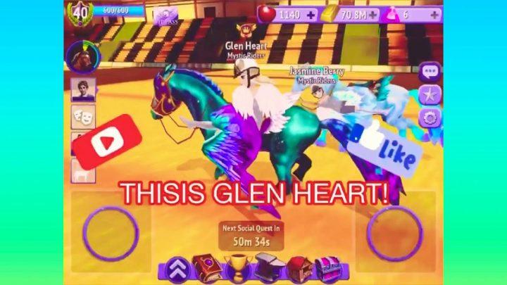 Horse riding tales- Glen's bronze whistle