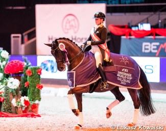 Isabelle Werth a remporté le CDI-W à Salzbourg
