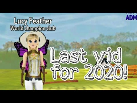 Last vid for 2020!-Horse Riding Tales-Lucy Feather2483