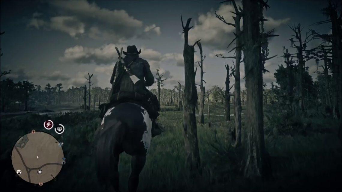 Red Dead Online: Un grand saut (fail du cheval)
