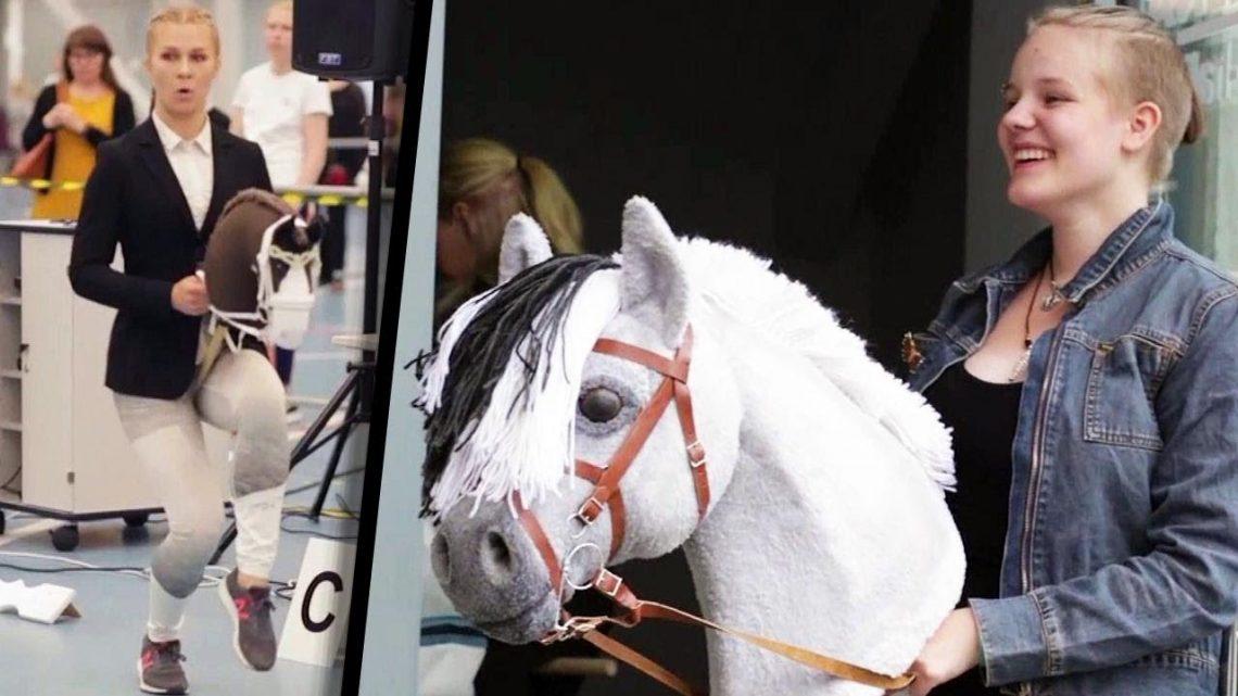 Une ado saute de plus de 4 pieds en prétendant être un cheval