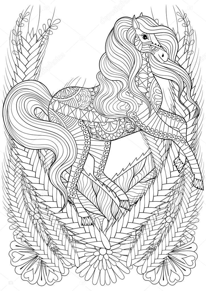 cheval mandala