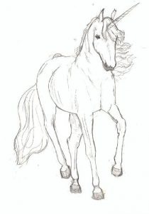 coloriage animaux cheval