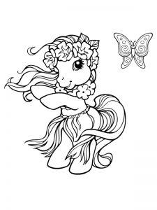 coloriage cheval et poney