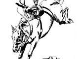 coloriage de chevaux sauvages à imprimer