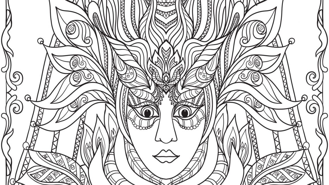 Coloriage Mandala Cheval À Imprimer