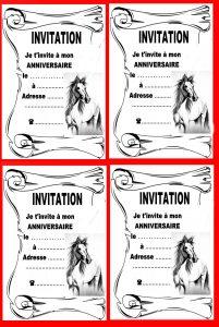 coloriage poney et chevaux a imprimer