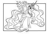 coloriages dorés chevaux et licornes