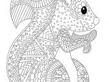 dessin cheval mandala