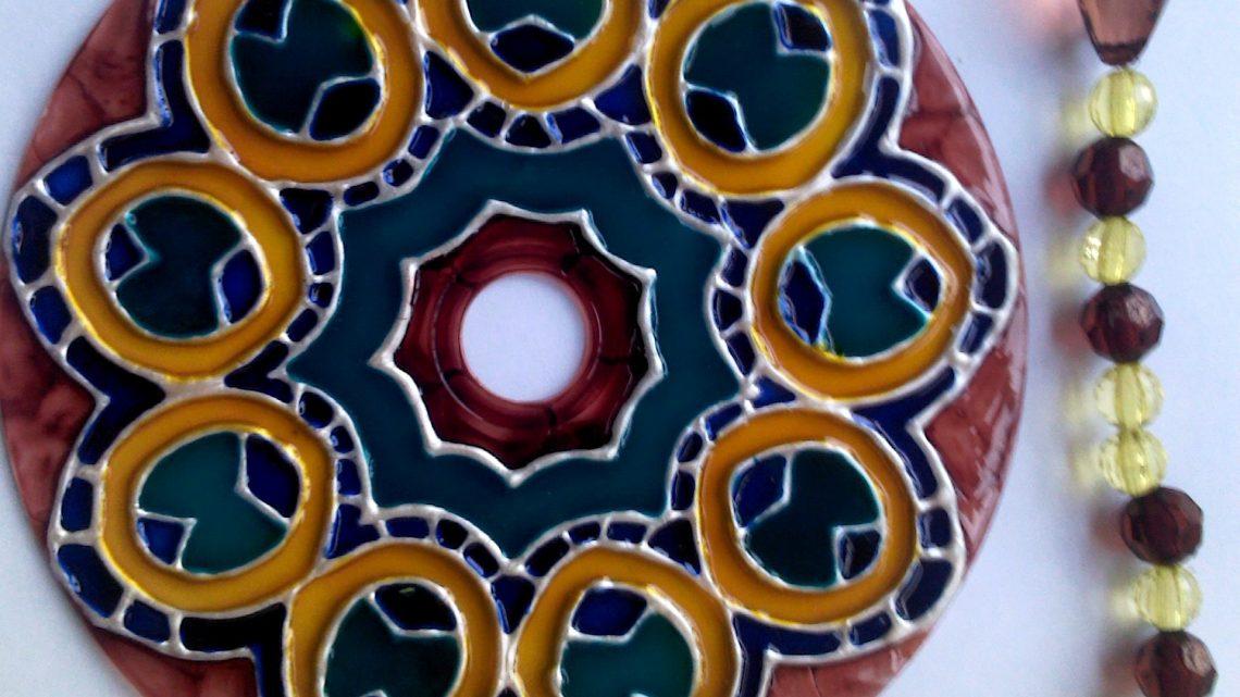 Mandala Avec Des Chevaux