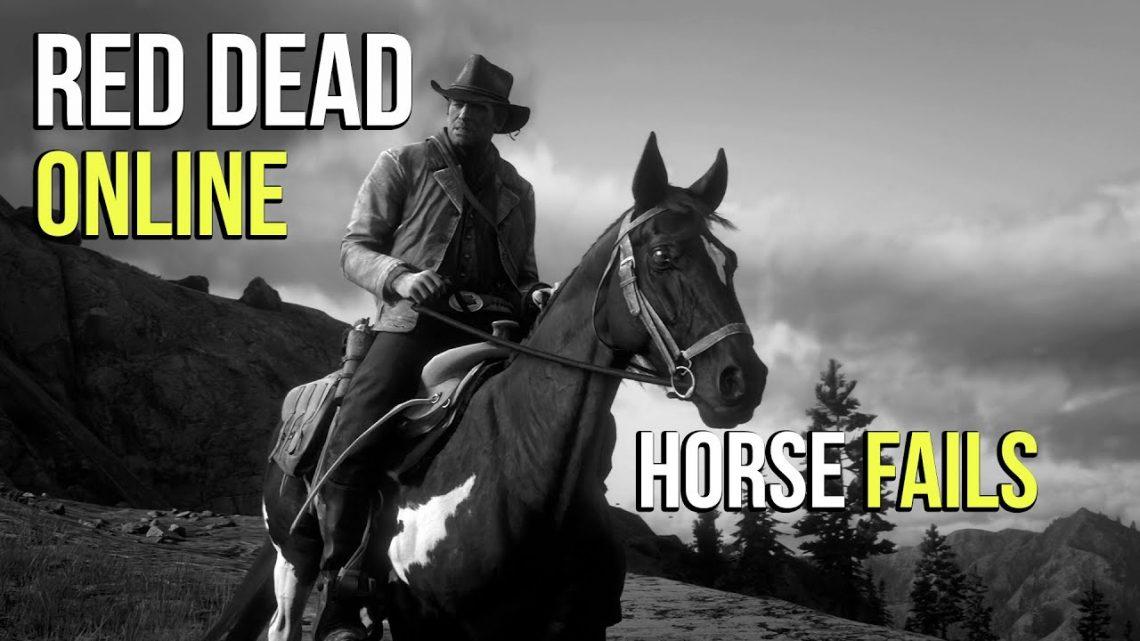 Первый раз в Red Dead Online 2020 |  Compilation d'échecs de cheval