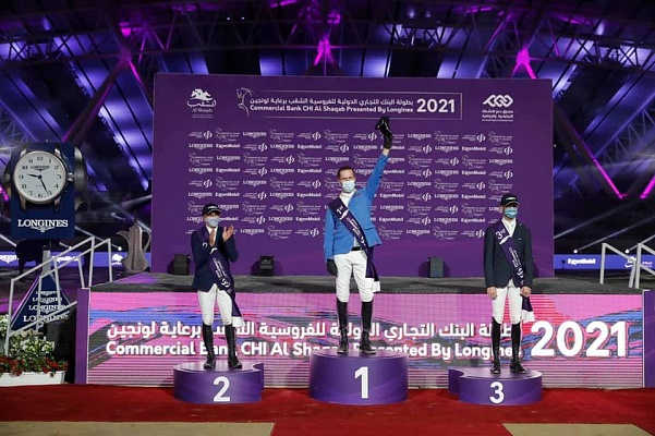 Christian Ahlman a remporté le Grand Prix CSI5 * à Doha