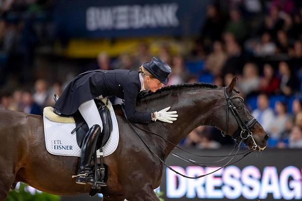 Damsey FRH Helen Langehanenberg prend sa retraite du sport à Doha
