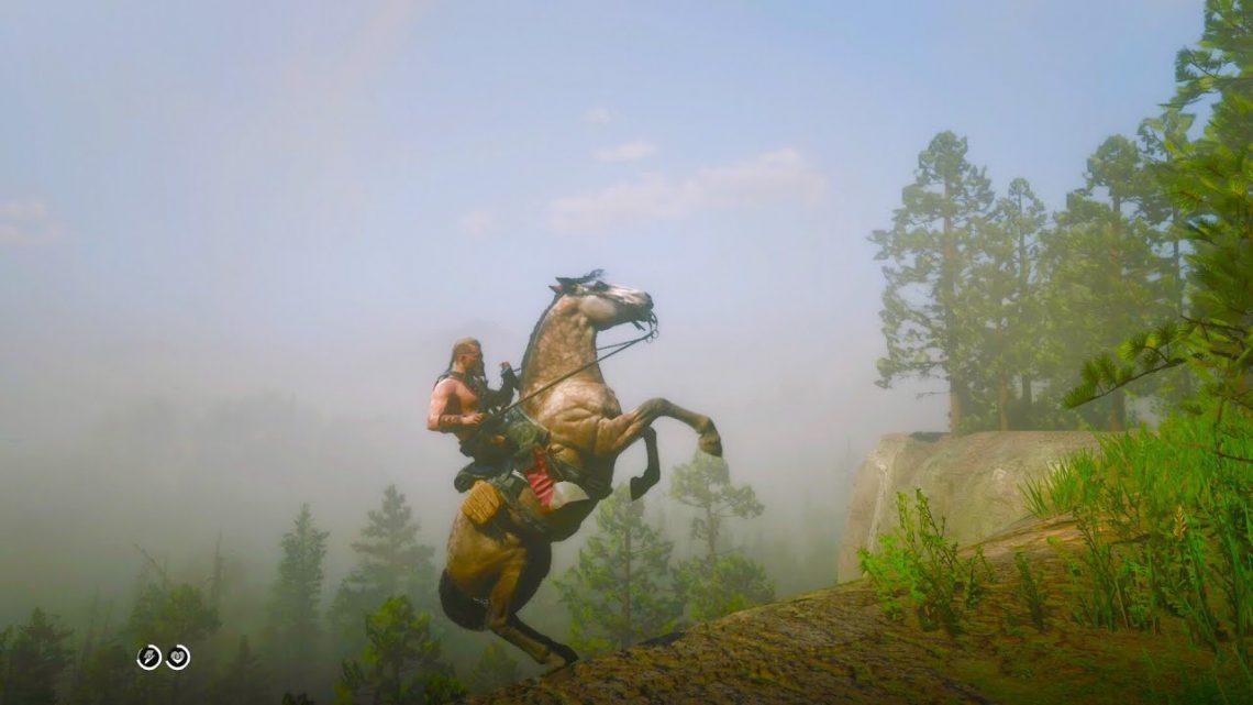 Horse Funny Fails RDR2