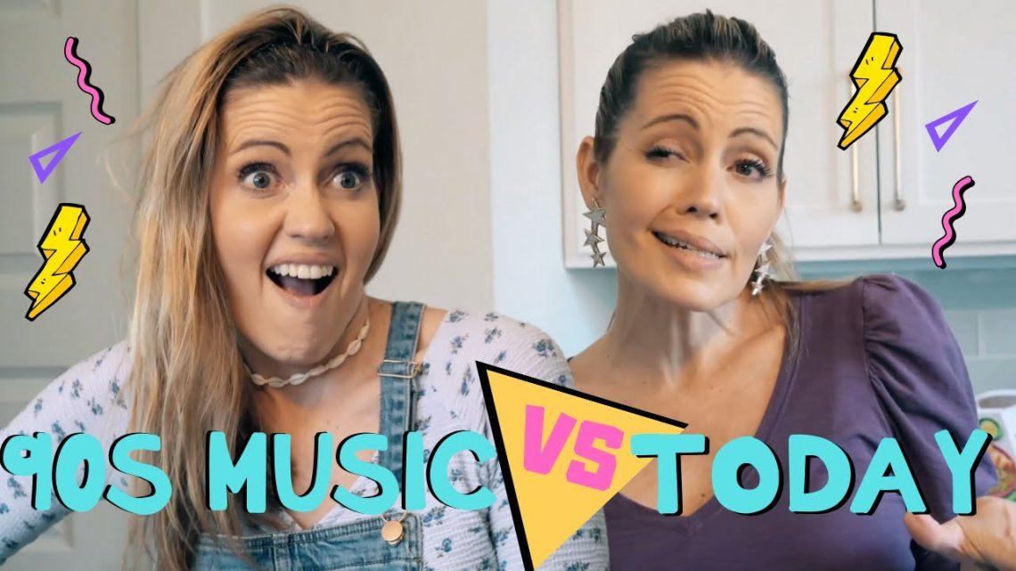 Musique des années 90 vs aujourd'hui