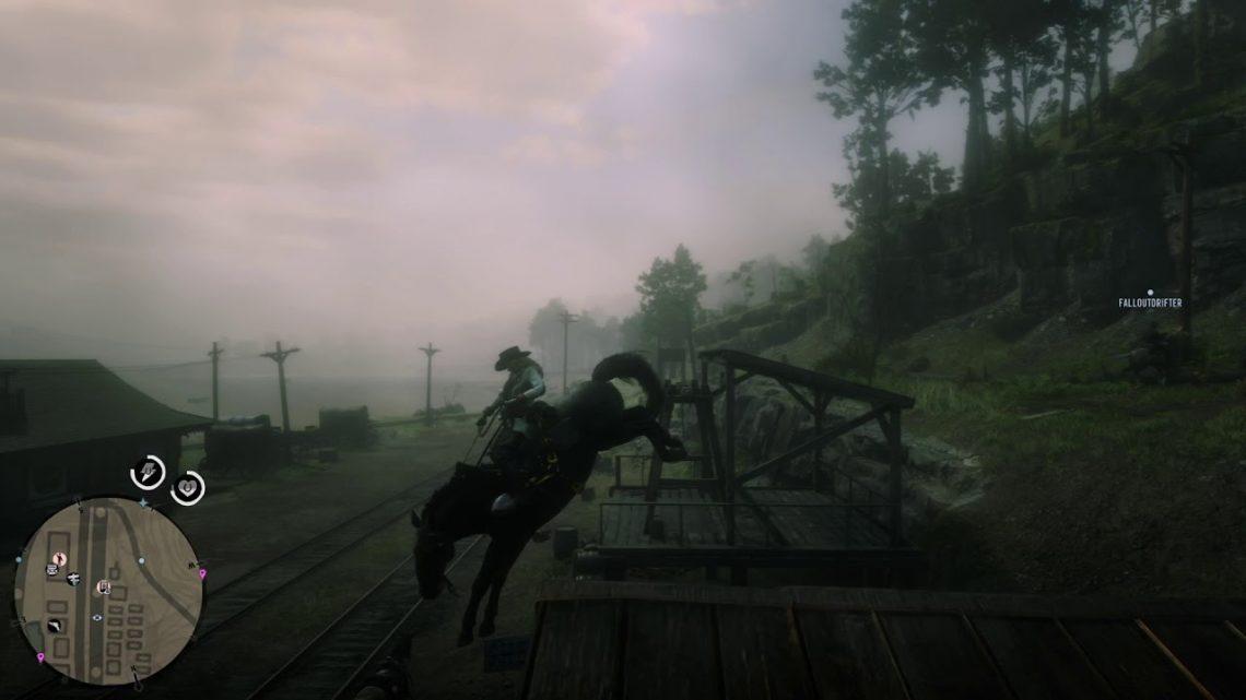 RDR2: fail du cheval