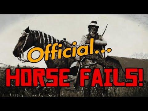 Red Dead Online – Le cheval officiel échoue!  – Je suis désolé, je devais le faire …