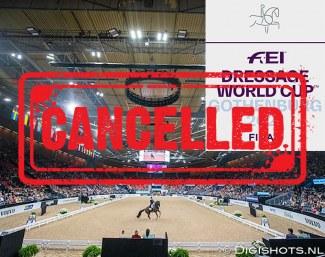 Finale de la Coupe du monde de saut d'obstacles et de dressage annulée