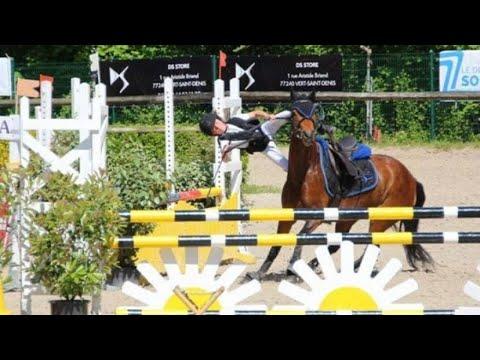 Horse Show Jumping Falls et échoue!  *A regarder*