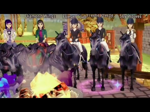 Horse riding tales musik video