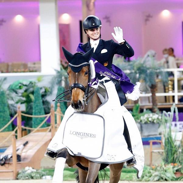 Jessica von Bredow-Werndl a remporté le Grand Prix Freestyle à Doha