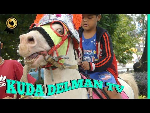 KUDA DELMAN TV 🔴 Naik Kuda Di Pangkalan Kuda Delman – Cheval, Dokar, Naik Kuda
