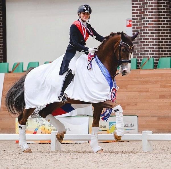 Maria Shuvalova est devenue la gagnante absolue de la Coupe de Dressage de Russie