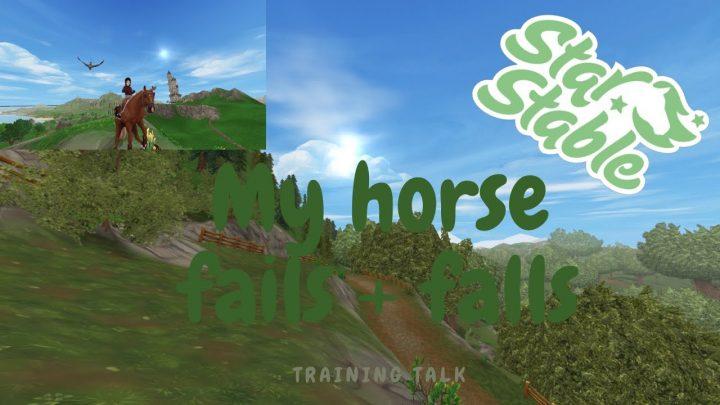 Mon cheval échoue et tombe ||  Conférence de formation en ligne Star Stable ||  Cavalier d'hiver